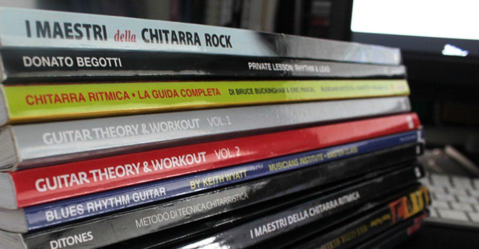 Libri e metodi di studio per chitarra. I migliori!