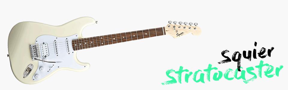 chitarra elettrica per iniziare_squier stratocaster