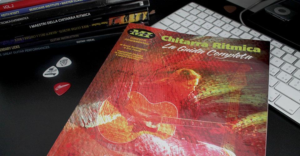 chitarra ritmica metodo studio libro