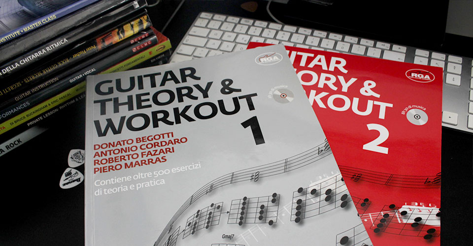 guitar theory and workout libro teoria musicale per chitarra