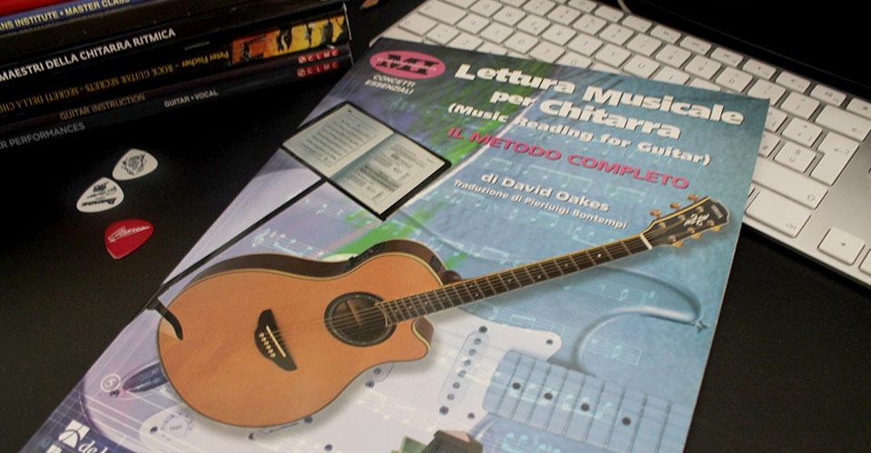 lettura musicale chitarra libro