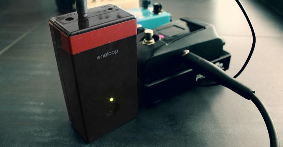 sanyo eneloop pedal juice alimentatore pedali a batteria