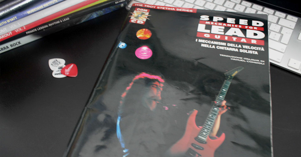 speed mechanics for lead guitar book