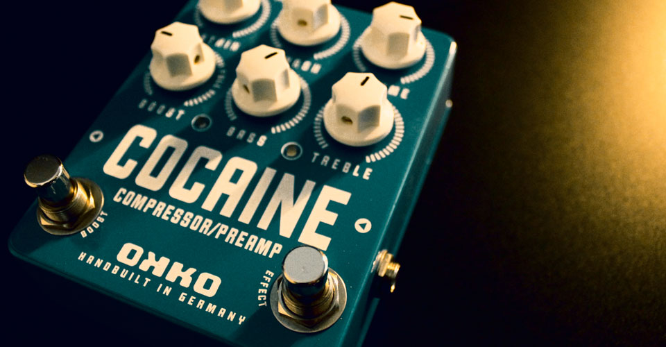 okko cocaine compressore booster preamplificatore