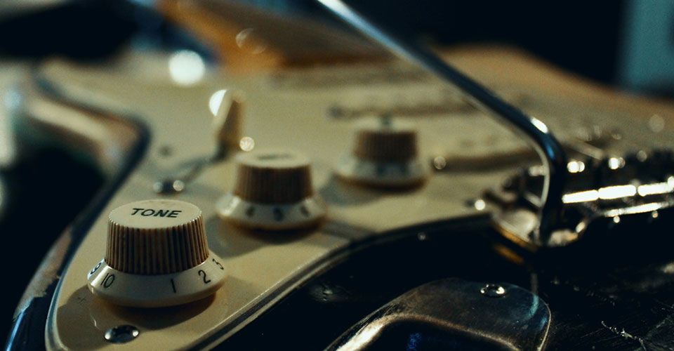 volume e tono della chitarra