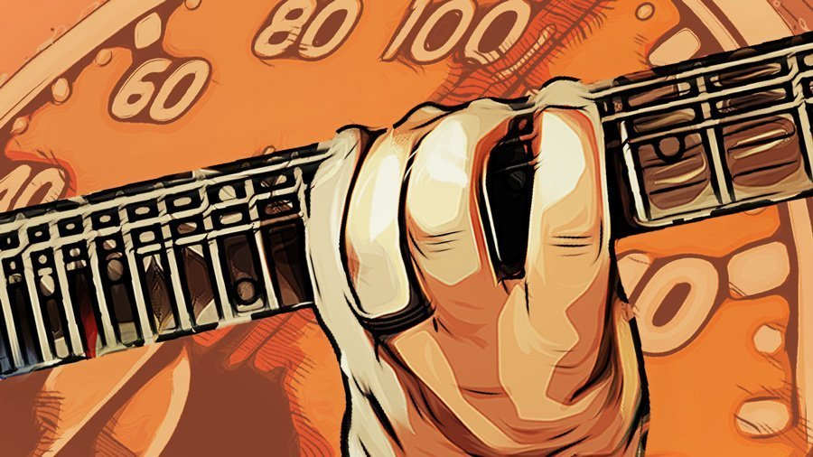 Ditones, esercizi di tecnica e meccanica per chitarra.