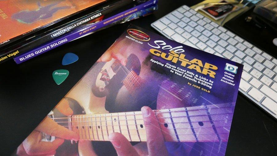 chitarra slap libro metodo di studio