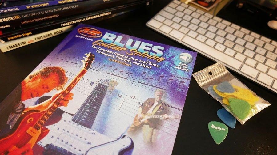 chitarra solista blues libro