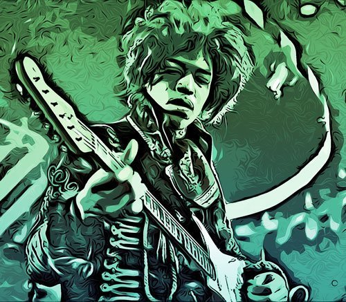 chitarristi mancini jimi hendrix