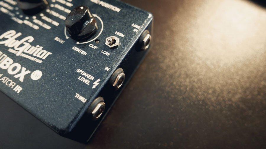 blubox bluguitar speaker emulatore ir emulatore di cassa emualtore di cabinet