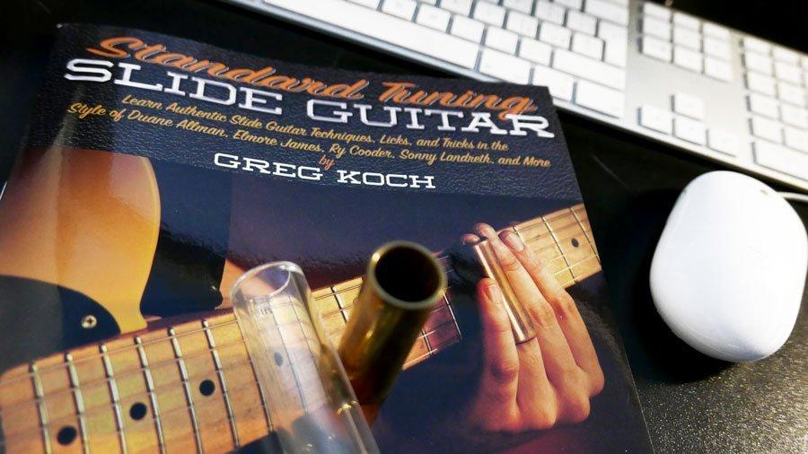 standard tuning slide guitar greg koch chitarra slide come iniziare come usare lo slide
