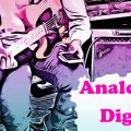 analogico digitale amplificatore pedalini live
