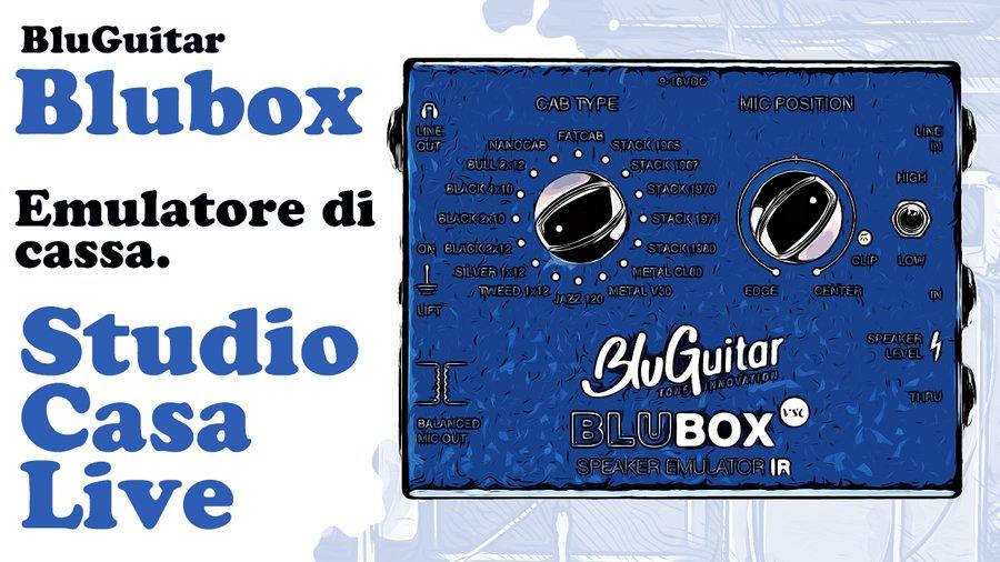 blubox bluguitar speaker emulatore ir emulatore di cassa emulatore di cabinet