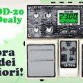 boss dd 20 giga delay chitarra elettrica pedale stompbox