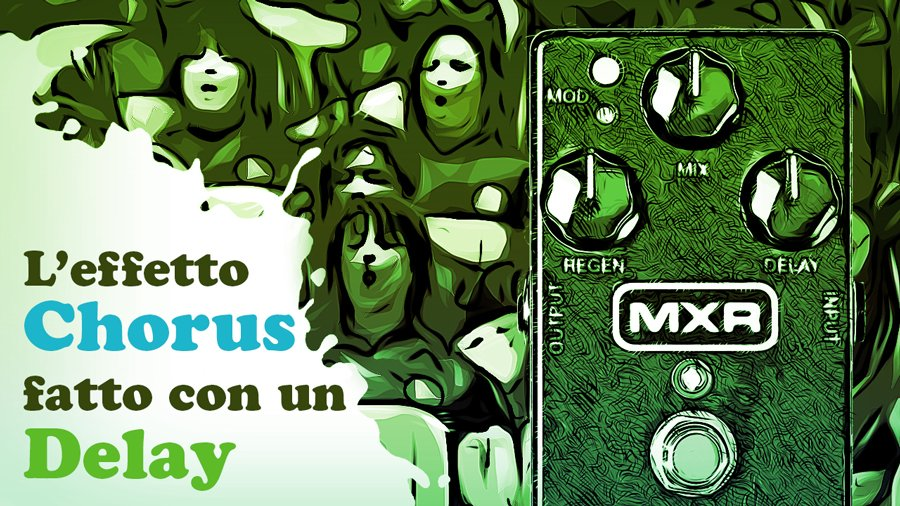 mxr carbon copy analog delay analogico chorus