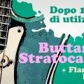 buttarini stratocaster flametone pickup recensione