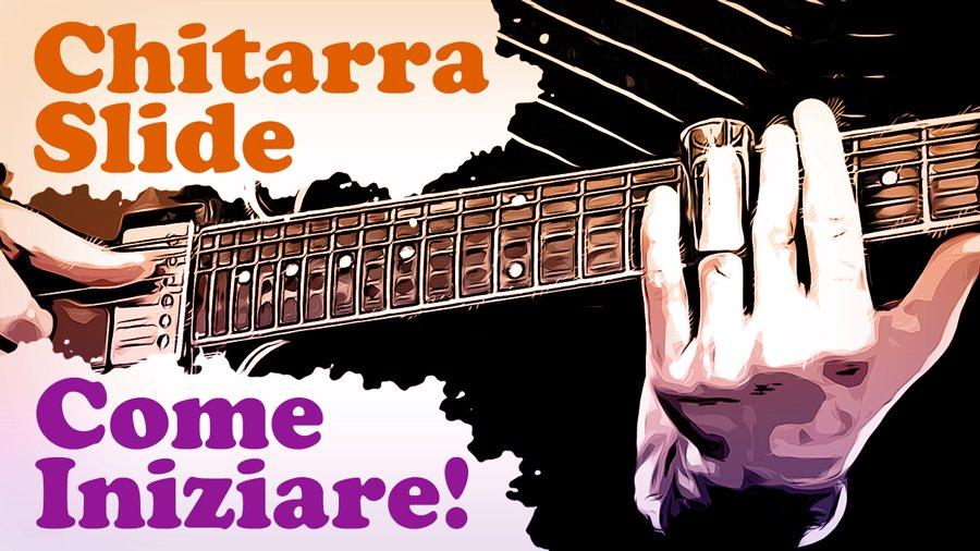 chitarra slide come iniziare come usare lo slide accordatura standard standard tuning
