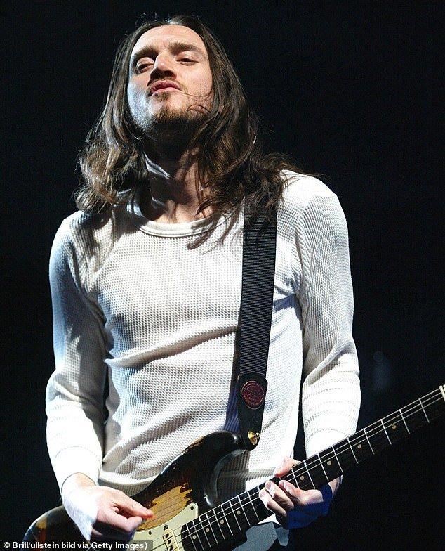 John Frusciante chitarra funk