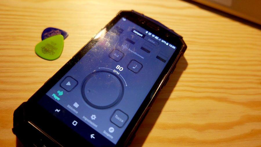 soundbrenner applicazione metronomo per smartphone