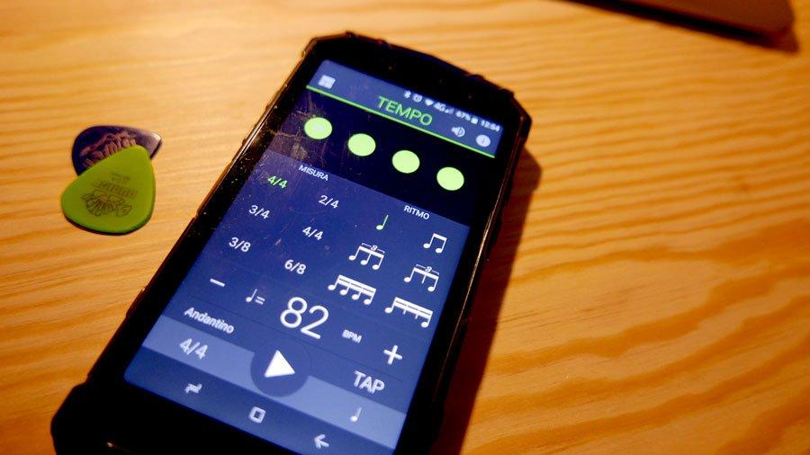 tempo applicazione metronomo per smatphone