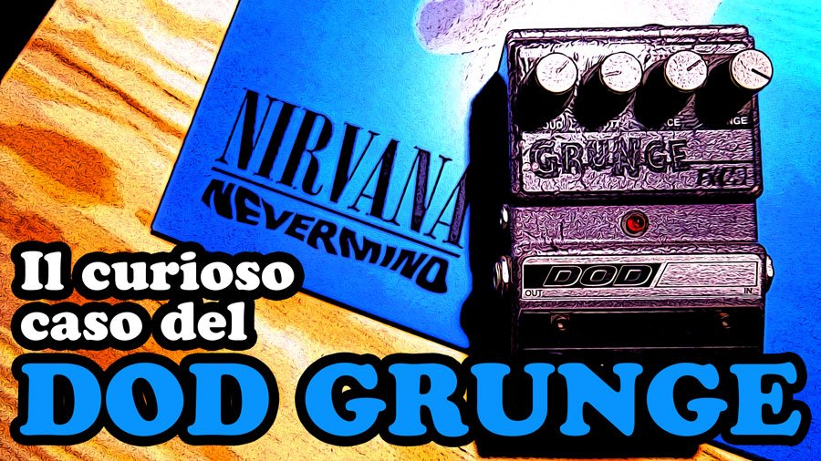 dod grunge american pedals nirvana kurt cobain